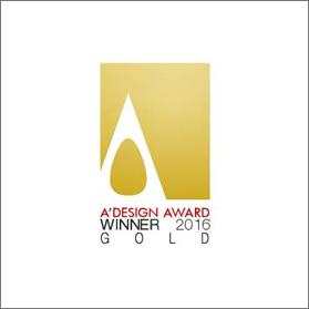 Blobhertz vince l'Oro agli A' Design Award & Competition 2016